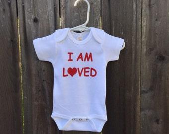 I AM LOVED  baby creeper!
