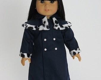 American Girl Coat and Hat Set