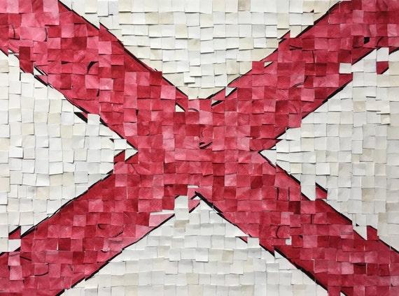 Alabama Flag Distortion 1