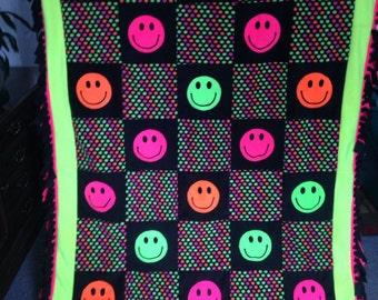 Smiley Face Bedding Etsy