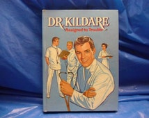 Vintage 1963  Dr Kildare  Assigned to Trouble TV Adventure Whitman HC VG