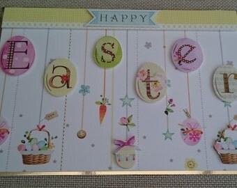 Handmade C5 Greeting Card - Easter