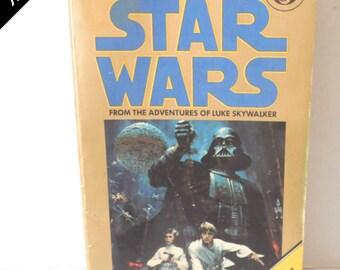 Vintage 1970's George Lucas' Star Wars Paperback Book A NEW HOPE