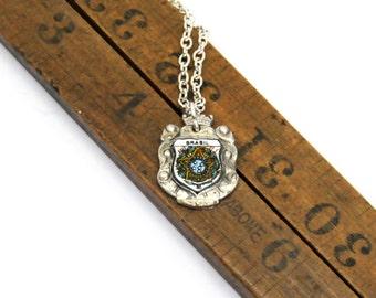 brazil necklace, brasil necklace, south american necklace, vintage necklace
