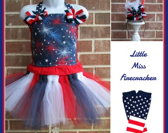 Patriotic Pageant Wear, Red, White and Blue tutu set, USA Pageant, Patriotic outfit, Patriotic tutu