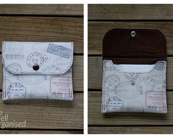 Sanitary pads holder - Stamps