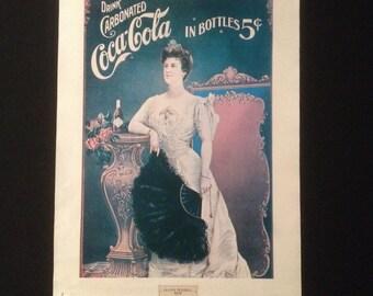 Coca Cola poster, 1980