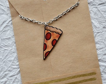 Pizza Party Necklace