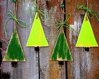 Christmas Ornaments Tree ornaments Christmas Decoration Christmas Tree Set of 4
