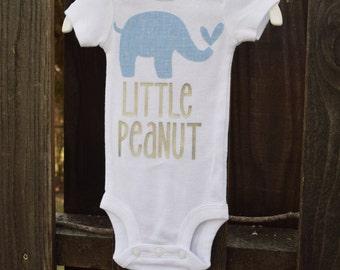 Baby Boy - Lil Peanut - Little Peanut - Blue Elephant