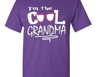 I'm the Cool Grandma T Shirt Grandma Shirts Grandma Shirt New Grandma Gift Gifts For Grandma New Grandma To Be Great Grandma