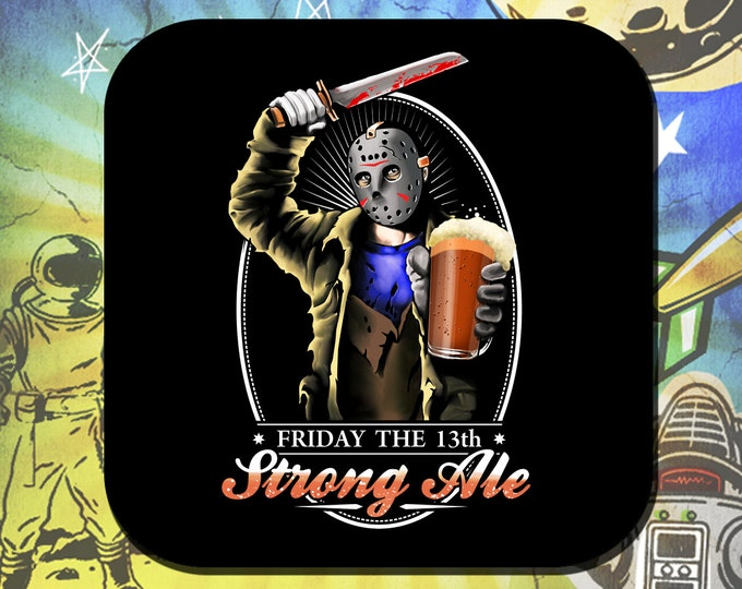 Friday the 13th - Jason Voorhees Coaster Set