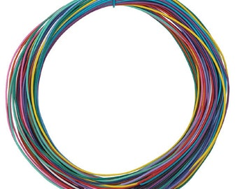 Twisteez plastic covered wire
