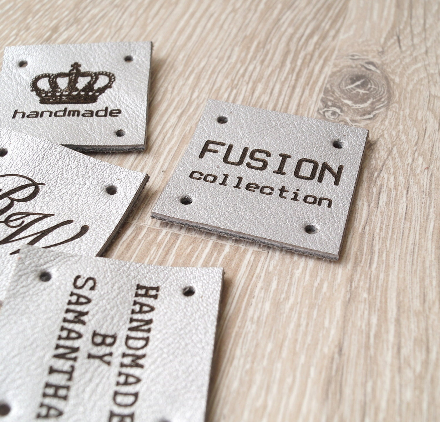 Sewing Labels Custom Leather Labels Personalized Leather