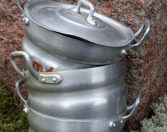 Small Aluminum Pot Etsy