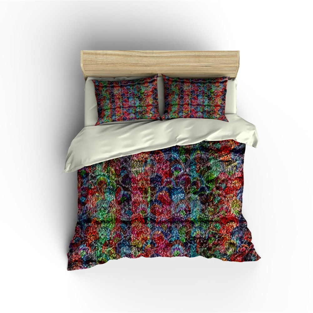 boho chic duvet cover bedding sets bed linens twin full. Black Bedroom Furniture Sets. Home Design Ideas