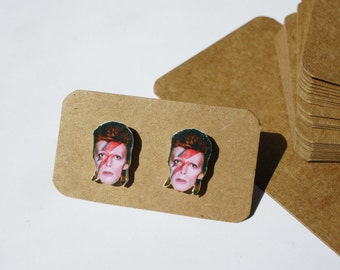 David Bowie stud earrings