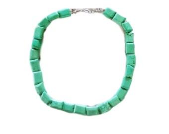 Glass Seafoam Necklace