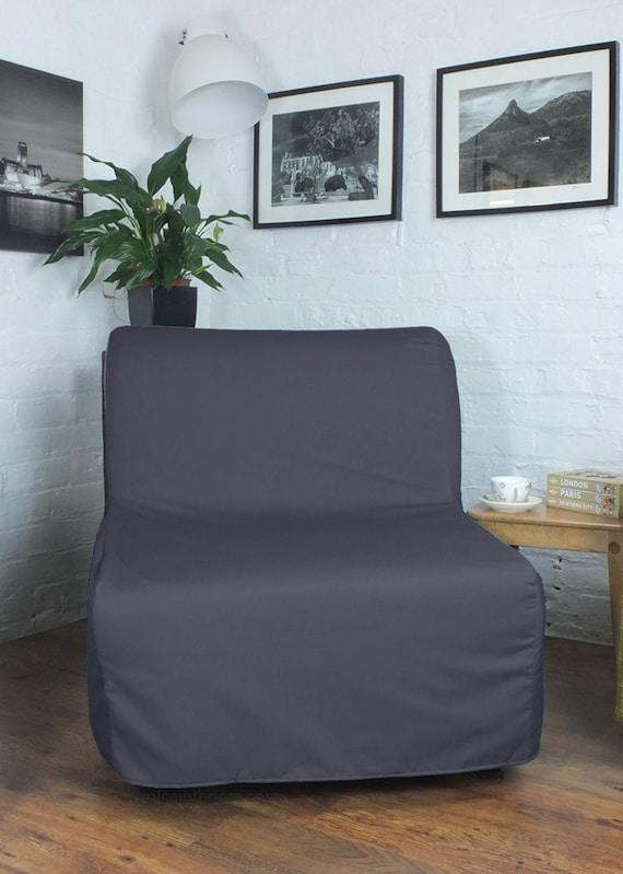 housse pour sadapter la ikea lycksele canap lit taille de. Black Bedroom Furniture Sets. Home Design Ideas