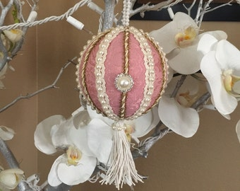 Victorian Shabby Chic Christmas Ornament