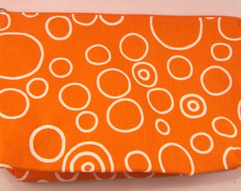 Louisburg Square in Orange Circles Print