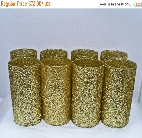On sale vases gold wedding by everydaydesignevents