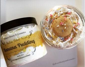 Italian Gelati Scrub Banana Pudding