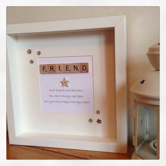 Friendship Picture Frames With Quotes: Best Friends Are Like Stars You Don't Always See Them But