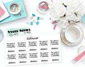 "SNARK SERIES: ""Hot Mess"" Paper Planner Stickers!"