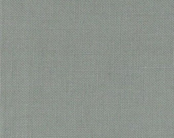 BELLA SOLIDS by Moda Pewter Grey Gray Solid Fabric by the Half yard 100% Cotton Quilt Shop Quality