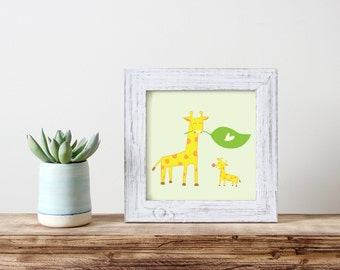 Welcome Little One! Art Print  / New Born / Baby / Wall art  / Printable / Nursery print / Art Print / AP13