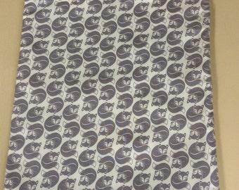 Grey fox tote