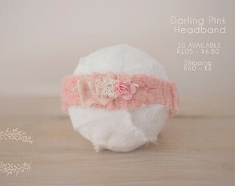 Darling Pink Headband