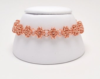 Byzantine Diamonds Bracelet in Copper