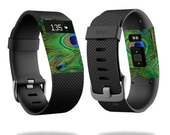 Skin Decal Wrap for Fitbit Blaze, Charge, Charge HR, Surge Watch cover sticker Peacock