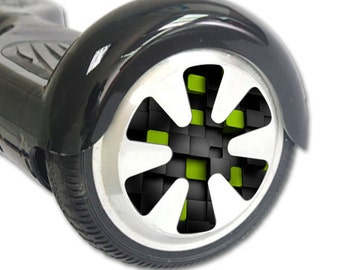 Skin Decal Wrap for Hoverboard Balance Board Scooter Wheels Cubes