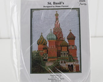 St.Basil's Counted Cross Stitch Kit, K180