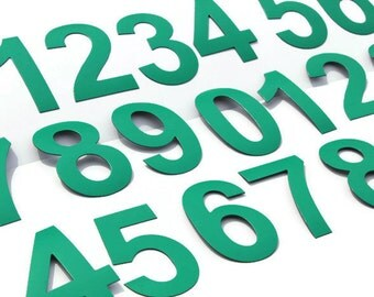 """Magnetic Numbers perfect for school board or price list, DIGITS on Fridge Magnets, 8cm/3,2"""" MagWords"""
