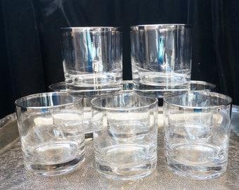 Silver Rim Rock Glasses