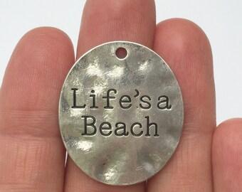 2 Life's a Beach Charms SC922