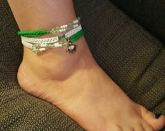 Turtle Anklet
