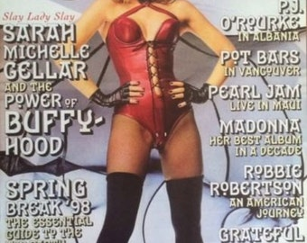 SARAH MICHELLE GELLAR Rolling Stone Cover poster print 24 x 30