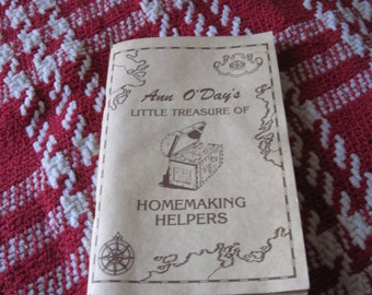 Ann O'Day's Little Treasure of Homemaking Helpers