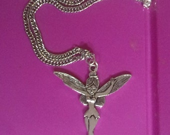 fantasy fairy Tinkerbell necklace jewelry