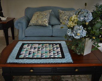 Blue and White Table Topper