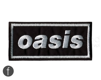 OASIS Iron On Patch