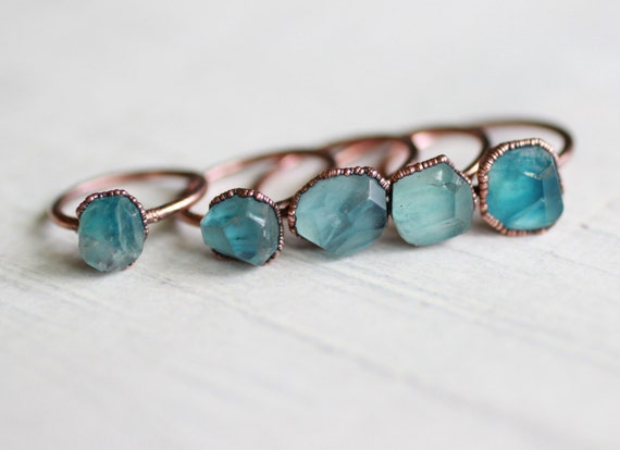 Teal Fluorite Ring Copper Ring Electroformed Ring Blue. Law Enforcement Rings. 2 Ct Three Stone Rings. Diamond Botswana Engagement Rings. Message Wedding Rings. Pear Shaped Diamond Engagement Rings. Flower Pattern Engagement Rings. Sqaure Wedding Rings. Victorian Jewelry Rings