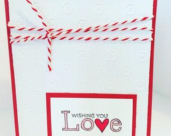 Wishing You Love Card