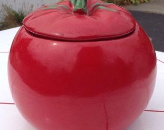 1963 McCoy Tomato Cookie Jar