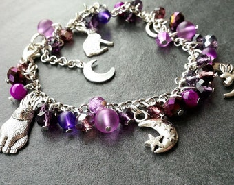 Hare and Moon Bracelet